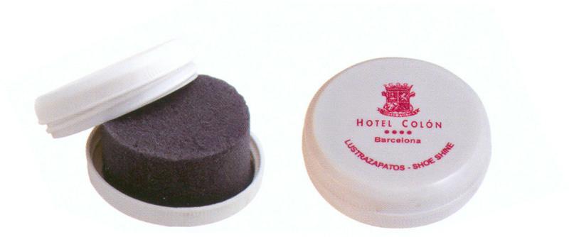 Lustrazapatos pl stico redondo for Accesorios para hoteles